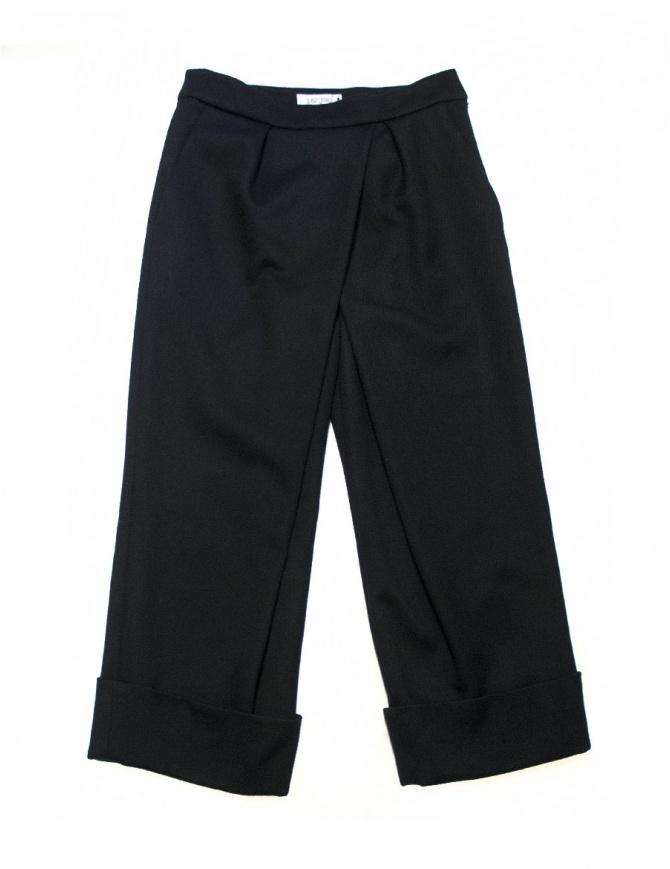 Pantalone Fadthree colore nero navy 14FDF02-07-2 pantaloni donna online shopping