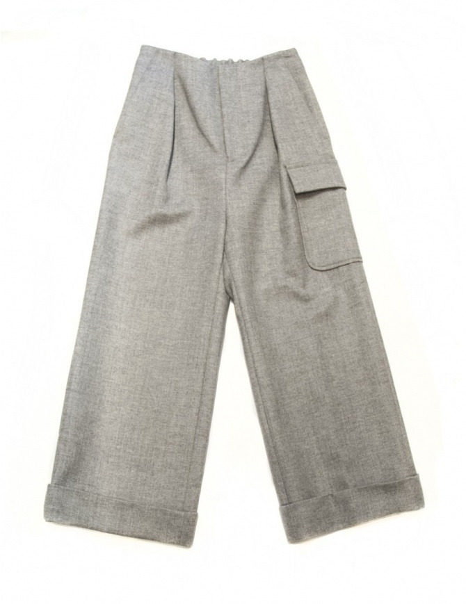 Fadthree light grey trousers 14FDF02-04-3 womens trousers online shopping