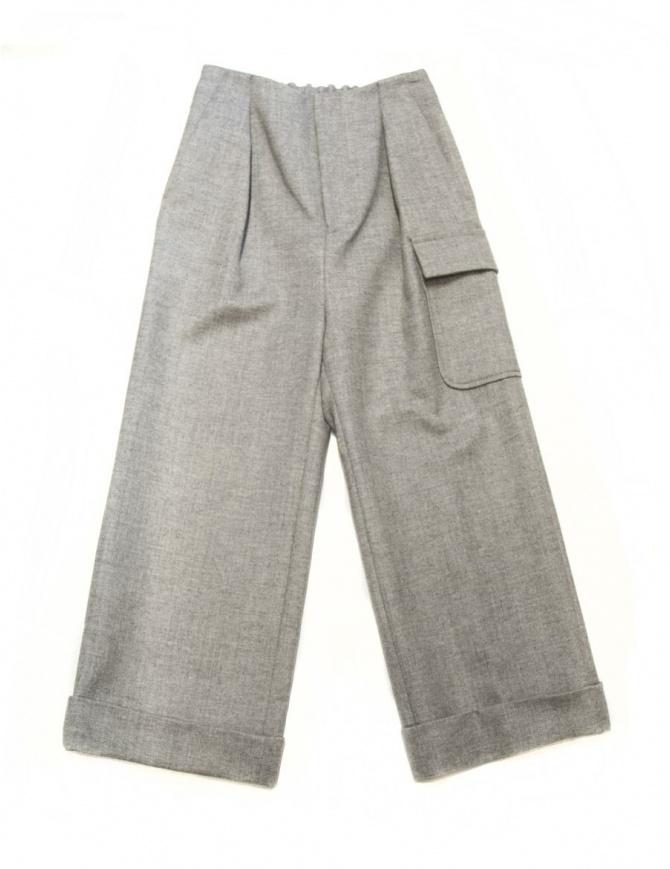 Pantalone Fadthree colore grigio chiaro 14FDF02-04-3 pantaloni donna online shopping