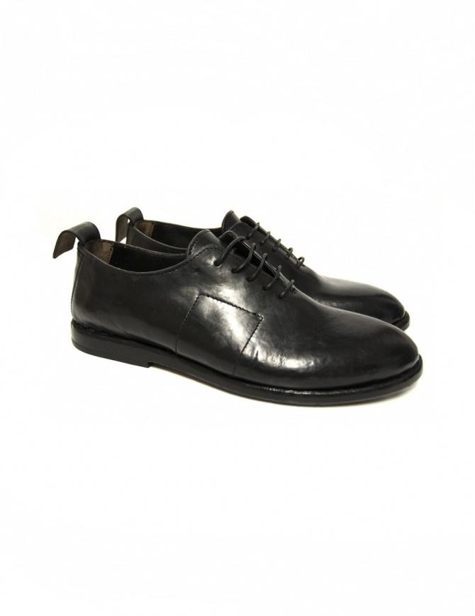 Scarpa Measponte in pelle nera RI60100-CHRO calzature donna online shopping
