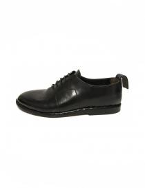 Measponte black leather shoes