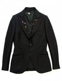 Maurizio Miri jewel black suit jacket online