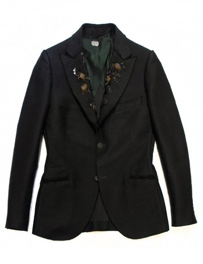 Maurizio Miri jewel black suit jacket ALICE BN TENNIS NERO womens suit jackets online shopping