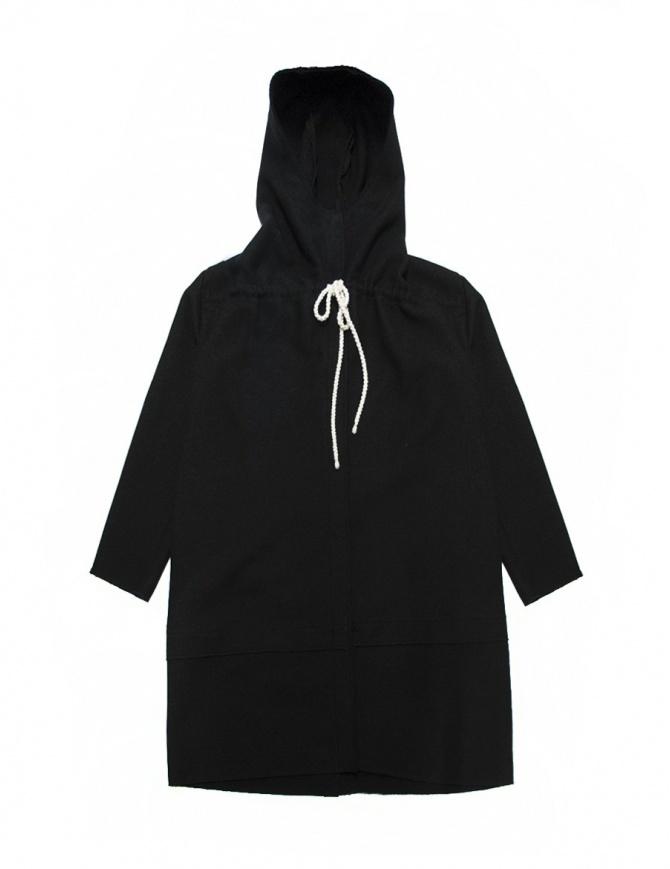 Sara Lanzi black jacket 02A-WCP-09-B womens coats online shopping