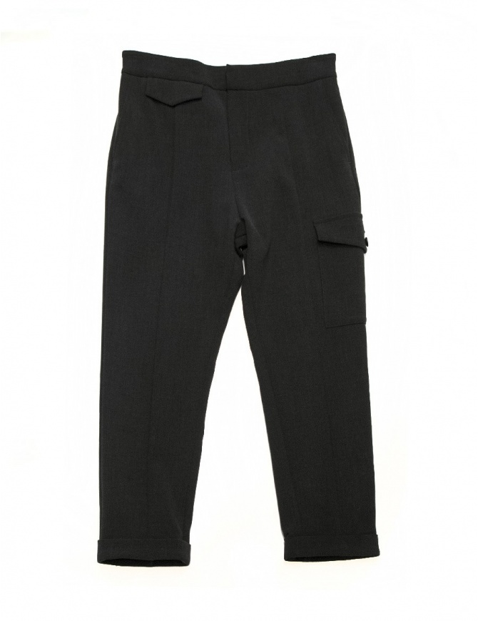 Fadthree charcoal trousers 14FDF02-06-0 womens trousers online shopping