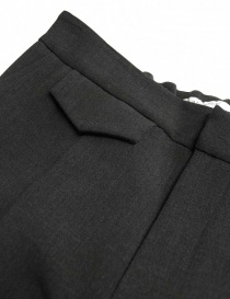 Fadthree charcoal trousers price