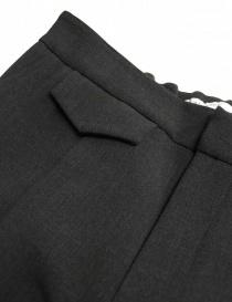 Pantalone Fadthree colore carbone prezzo