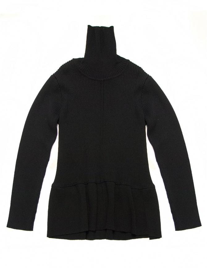 Sara Lanzi black pullover 01K-W0-09-BL womens knitwear online shopping