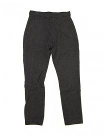 Pantalone Casey Casey grigio gessato online