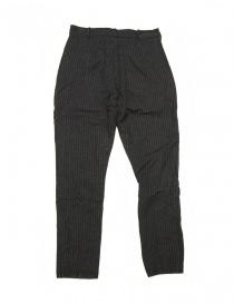 Pantalone Casey Casey grigio gessato