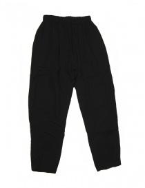 Pantalone Casey Casey nero in lana online