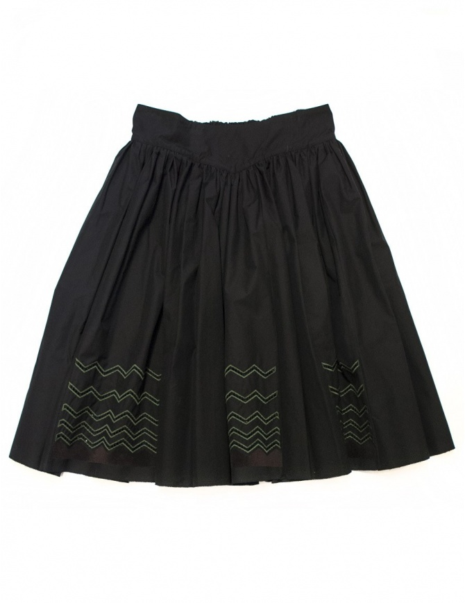 Harikae black skirt 16H0002-BLK womens skirts online shopping