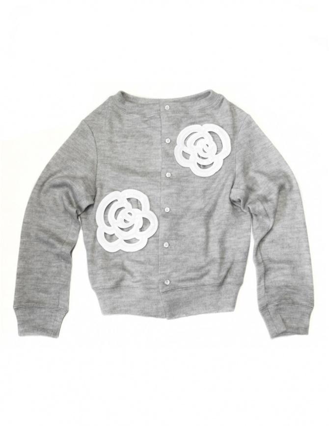 Miyao grey cardigan ML-B-05 GRAY WHT womens cardigans online shopping