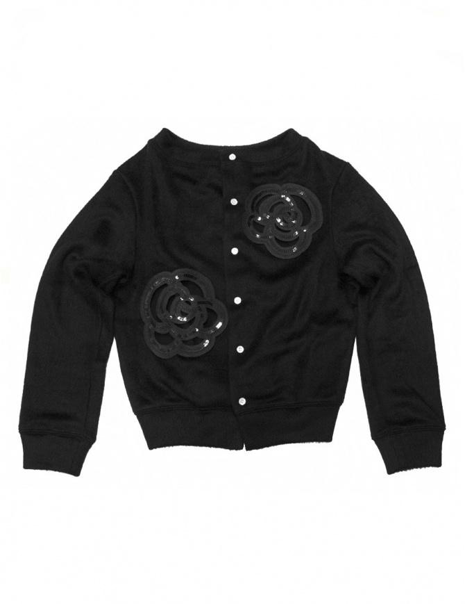 Miyao black cardigan ML-B-05-BLK- womens cardigans online shopping