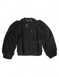 Miyao black sweater ML-B-10-BLK