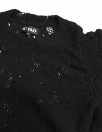 Maglia nera Miyao acquista online
