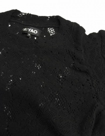 Miyao black sweater buy online