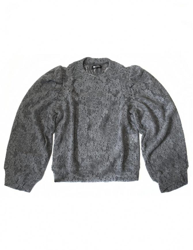 0096e91723628e Maglia grigia Miyao ML-B-10-GRAY maglieria donna online shopping