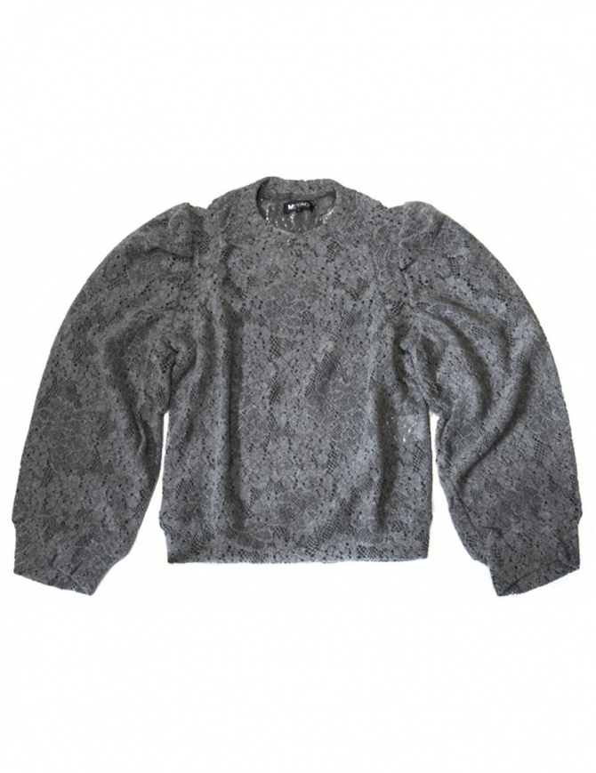 Miyao gray sweater ML-B-10-GRAY womens knitwear online shopping