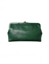 Portafoglio Il Bisonte in pelle verde online
