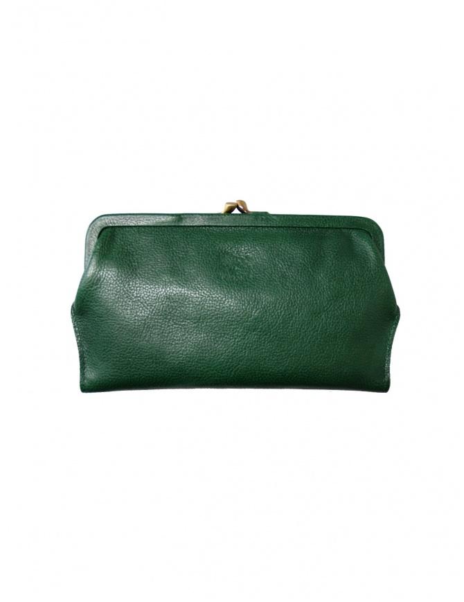 Portafoglio Il Bisonte in pelle verde C0671 P 293 portafogli online shopping