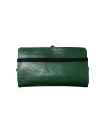 Portafoglio Il Bisonte in pelle verde acquista online