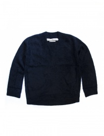 IL by Saori Komatsu navy sweater dress 428-31-ABITO