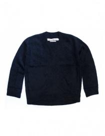 Maglia abito IL by Saori Komatsu colore navy 428-31-ABITO order online