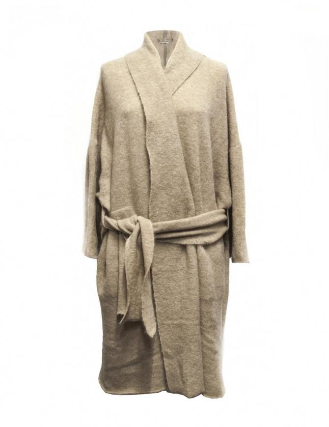 Cardigan lungo IL by Saori Komatsu colore beige 403-20-CARDI cardigan donna online shopping