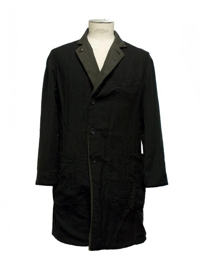 Cappotto double Sage de Cret 3160 9300 90 BLK cappotti uomo online shopping