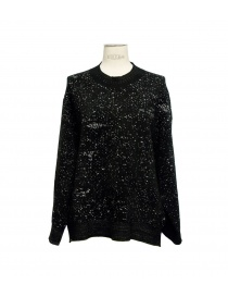 Boboutic black round-necked sweater online