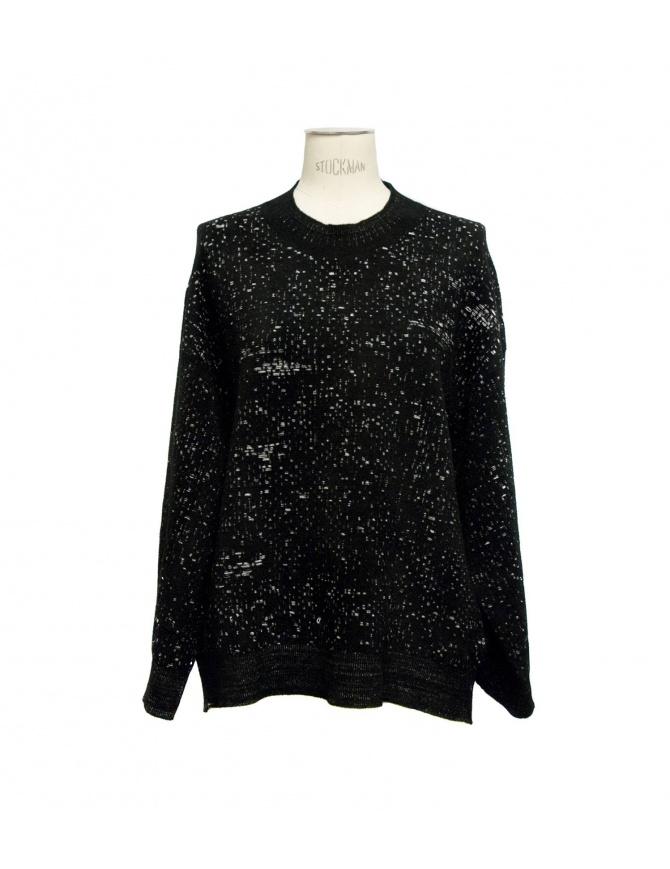 Boboutic black round-necked sweater 3135 G2 BLK womens knitwear online shopping