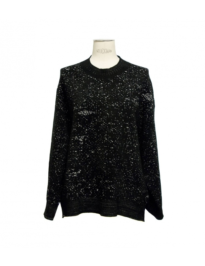 Maglia girocollo nera Boboutic 3135 G2 BLK maglieria donna online shopping