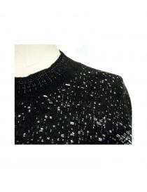 Boboutic black round-necked sweater price