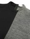 Maglia Fad Three colore nero e grigio 14FDF07-042- prezzo