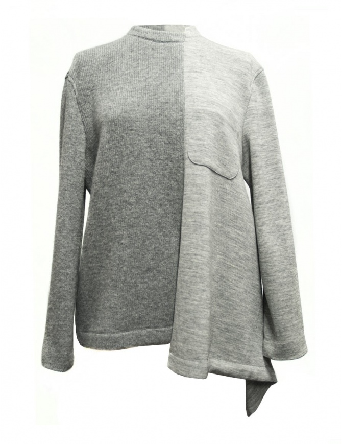 Fad Three grey sweater 14FDF07-04-1 01 GRAY womens knitwear online shopping