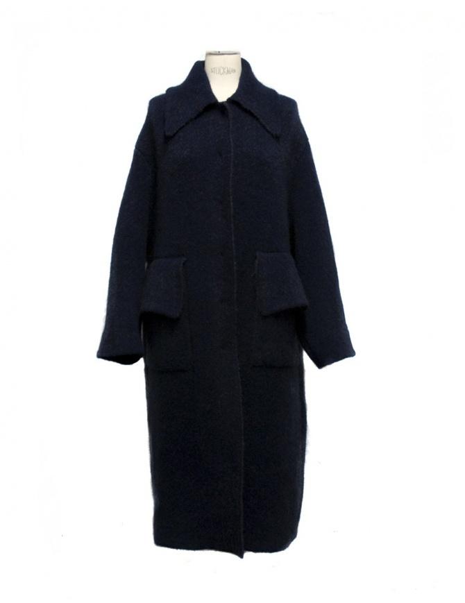 Cappotto Boboutic colore blu 3152 V3 BLUE cappotti donna online shopping