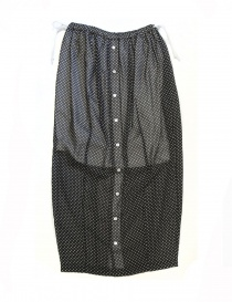Miyao black polka skirt ML-S-02-BLK-