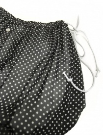 Miyao black polka skirt price