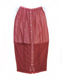 Miyao red polka skirt online