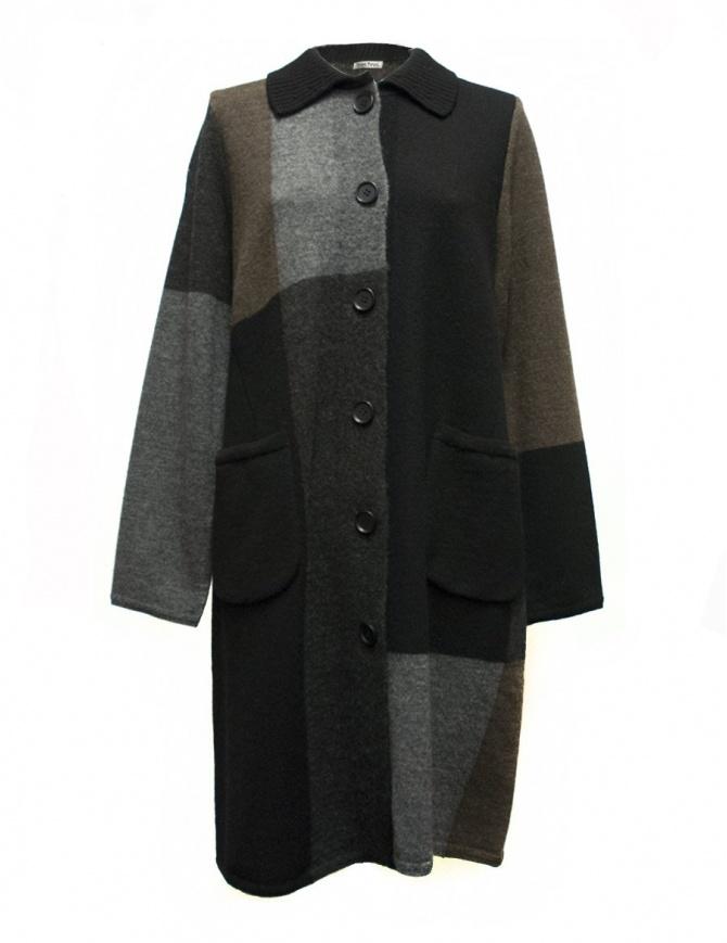 Cappotto Fuga Fuga FAFA107W BLK cappotti donna online shopping
