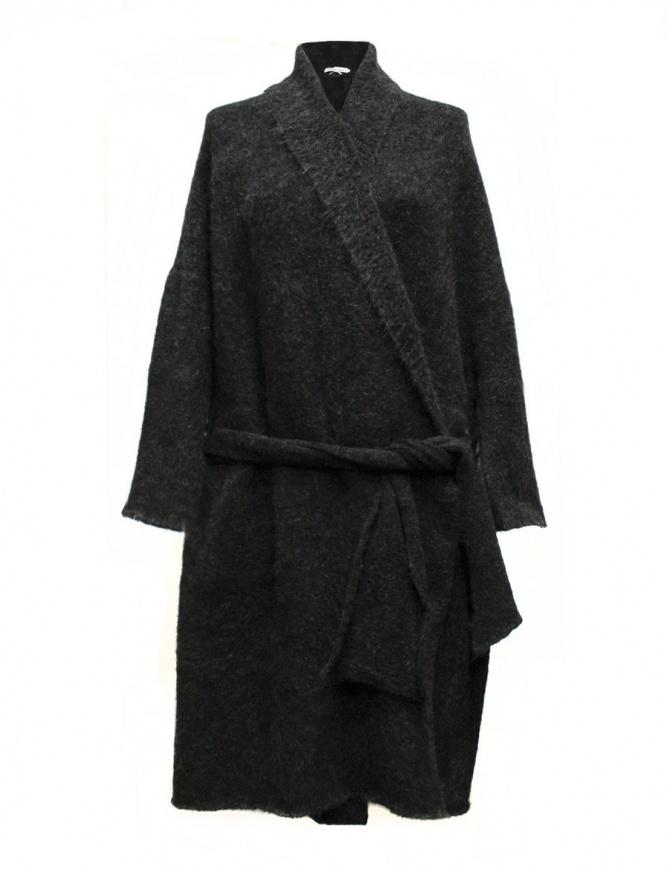Cardigan lungo IL by Saori Komatsu colore grigio scuro 403-11-CARDU cardigan donna online shopping