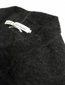 Cardigan lungo IL by Saori Komatsu colore grigio scuro prezzo