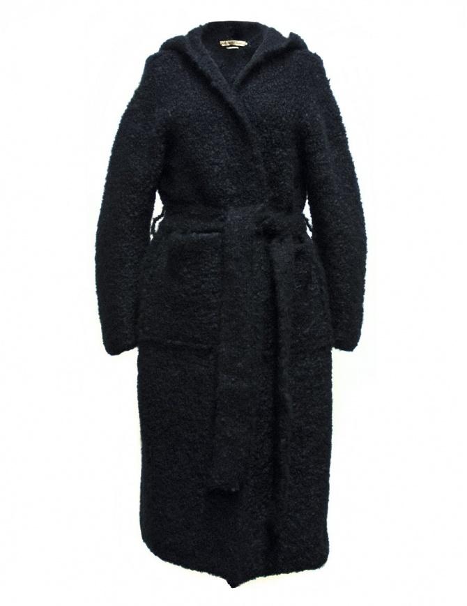 IL by Saori Komatsu navy coat 408-31-CARDI womens coats online shopping
