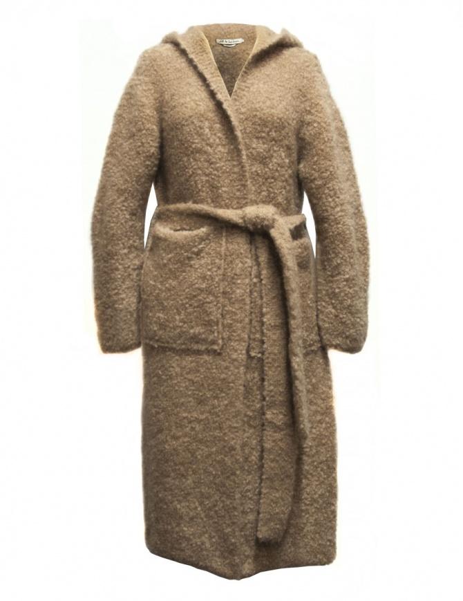 Cappotto IL by Saori Komatsu colore cammello 408-31-CARDI cappotti donna online shopping