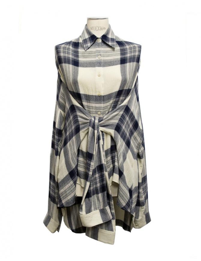 Fad Three checked shirt 14FDF03-01-1 womens shirts online shopping