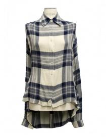 Camicia quadri Fad Three camicie donna acquista online
