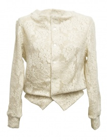 Cardigan bianco Miyao ML-B-12 NATURAL order online
