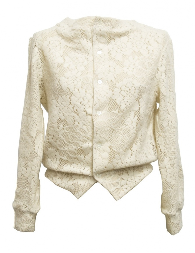 Cardigan bianco Miyao ML-B-12 NATU cardigan donna online shopping