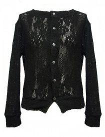 Cardigan nero Miyao ML-B-12-BLK